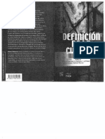 Definición de la Cultura. Bolivar Echeverría.