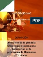 Hipotiridismo (Seminario)