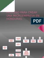 Proceso Para Crear Una Microempresa en Honduras