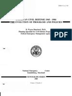 Civil Defense History