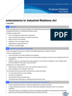 IR Act Amendments Fact Sheet