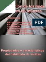 tipos de varillas y sus propiedades estructurales.pptx