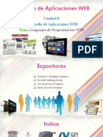 Desarrollo de Aplicaciones Web - Unidad II