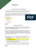 Evaluación Nacional 2013 - I logica.docx