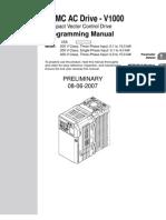 V1000 Programming Manual OYMC 070808
