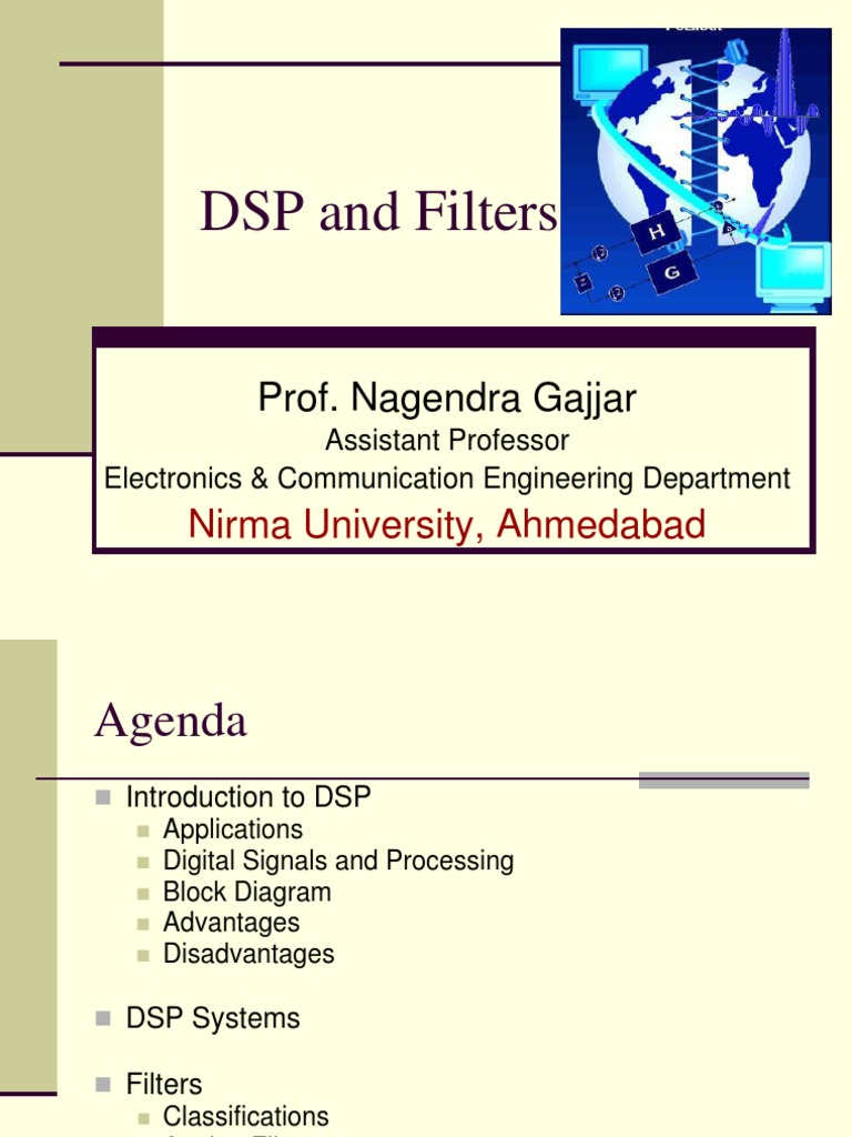 DSP and Filters ppt | Digital Signal Processing | Signal
