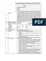 Course Outline Advance Management Practice Apr13
