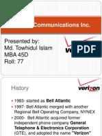Verizone Communication