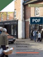 Valuing Sustainable Urbanism