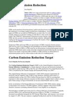 Certified Emission Reduction (CER)