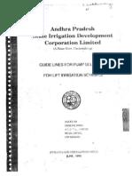 Pump Selection Procedure APSIDC
