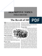 History - the Revolt of 1857