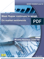Week Rupee Continues to Weigh on Market Sentiments