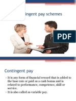 10. Contingent Pay Schemes