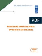 Armenia 2009 NHDR Migration and Human Development