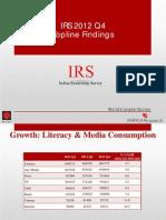 Irs2012q4 Topline Findings