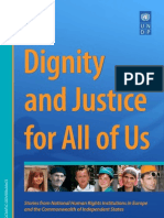Dignity and justice for all