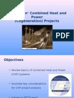 RETScreen Combined Heat and Power Cogeneration (Santosh)