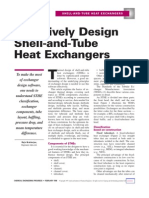 Exchanger Design