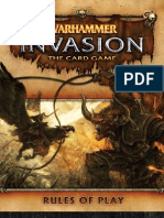Warhammer Invasion Card Game