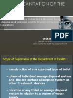 IRR on Proper Sewage Handling