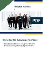 13,14 Rewarding Business Performance