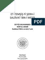 Et Temsis Fi Serh Salavat Ibn Mesis