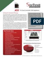 StorTrends 3400i 3U Dual Controller SAN Storage Solution