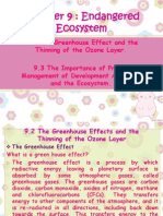 Biology Form 4 Chapter 9 - Endangered Ecosystem