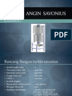 Turbine Savonius