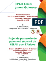 NEPAD African - Payment Gateway v1 - Final