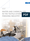 Water and Chemicals in Processing