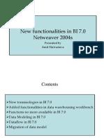 New Capabilities in BI 7