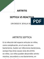 artritis pediatria