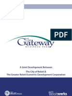 The Gateway Business Park- A joint Development Between The City of Beloit & THe Greater Beloit Economic Development Corporation.