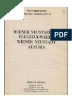 Wiener Neustaedter Flugzeugwerke Wiener Neustadt Austria