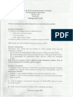 Examen Math Financière + Tables + Corrigé