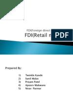 FDI(Retail Market)