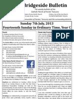 2013-07-07 - 14th Ordinary Year C