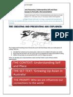 Unit 1 Term 1 Study Break Tasks - Context Oral