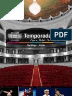 Teatro Municipal Santiago 2013
