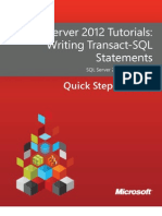 SQL Server 2012 Tutorials - Writing Transact-SQL Statements.pdf