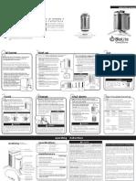 BioLite CampStove Instruction Manual