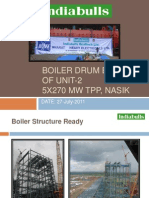 Boiler Drum Erection of Unit-2