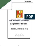 Reglamento Interno 2013 Oficial