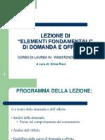 Economia Applicata (Silvia Ricci)
