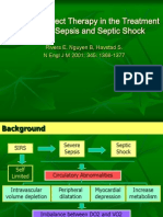 Early Goal-Direct Therapy in the Treatment of Severe Sepsis and Septic Shock