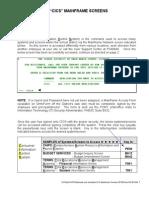 Cics Mainframe Screens