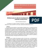 A010 (Santacruz) Software Para El Calculo de Aislamiento Acustico