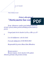 0 Martie Proiect